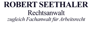 Rechtsanwalt Robert Seethaler - Logo